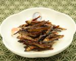 ①小鮎醤油煮 1kg / ②小鮎飴煮 1kg